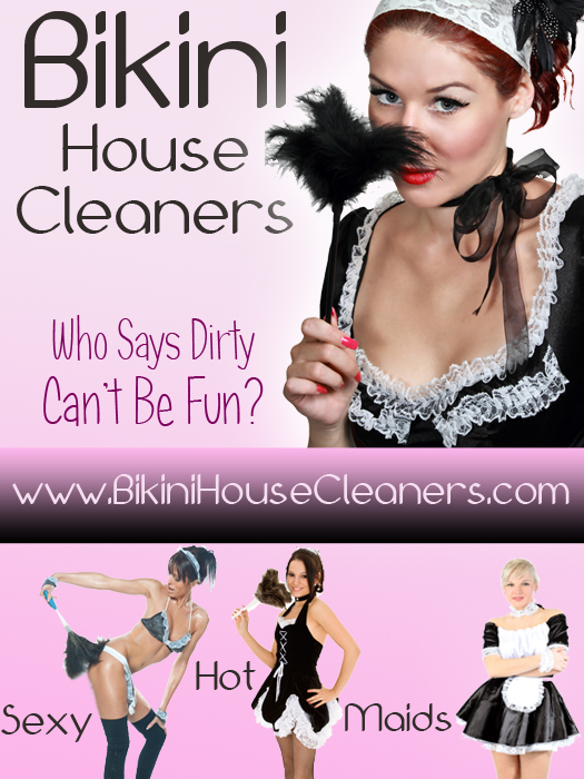 Sexy Bikini House Cleaners
